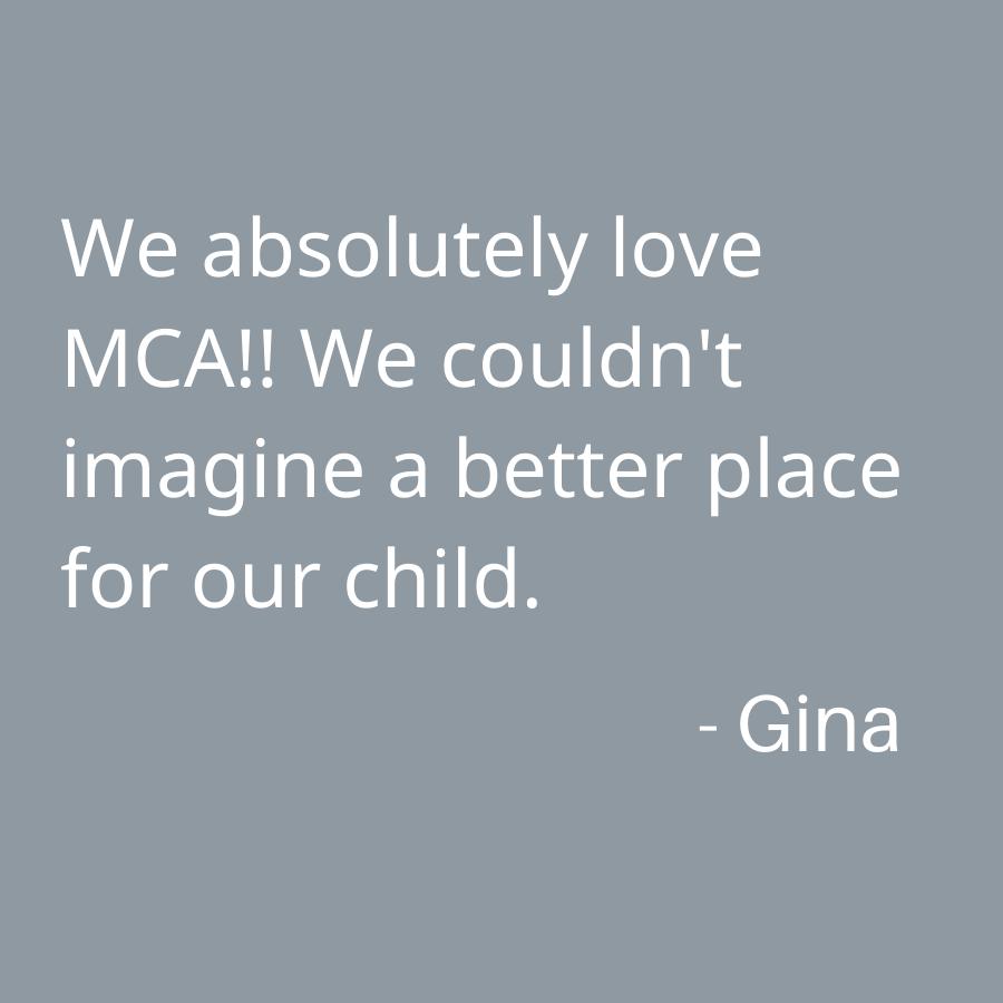 Montessori Children's Academy testimonial 1